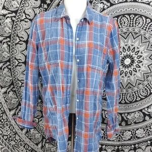 Lucky Brand M flannel long sleeve